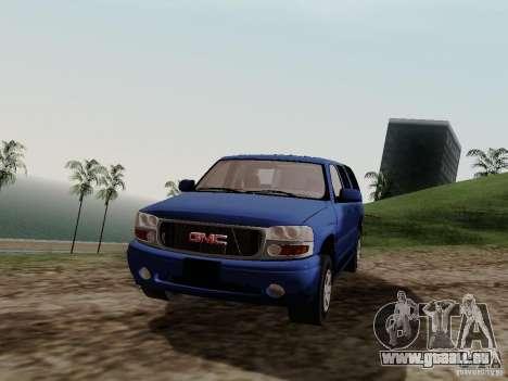 GMC Yukon Denali XL pour GTA San Andreas vue de droite