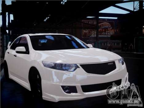 Honda Accord Mugen pour GTA 4 est un côté