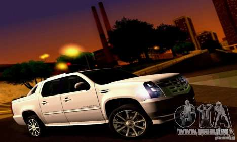 Cadillac Escalade Ext pour GTA San Andreas vue de droite