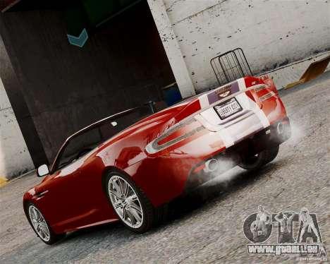 Aston Martin DBS Volante 2010 v1.5 Bonus Version für GTA 4 rechte Ansicht