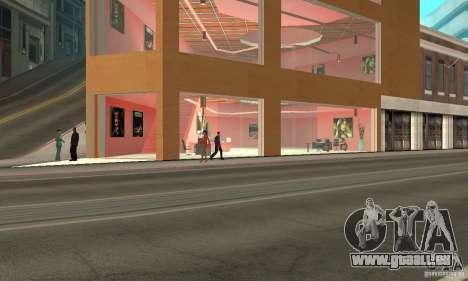 Otto Sport Car pour GTA San Andreas deuxième écran