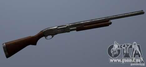 Remington 870AE Silver pour GTA San Andreas quatrième écran