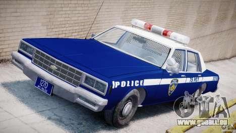 Chevrolet Impala Police 1983 [Final] für GTA 4