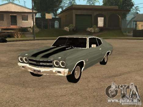 Chevrolet Chevelle SS 454 1970 pour GTA San Andreas
