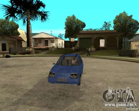ZAZ 1103 Slavuta pour GTA San Andreas vue arrière