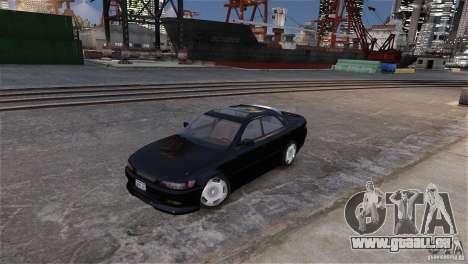 Toyota Mark II 2.5 pour GTA 4 est une vue de dessous