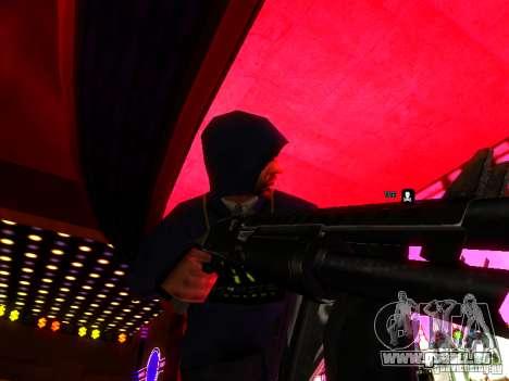 New Weapons pour GTA San Andreas troisième écran