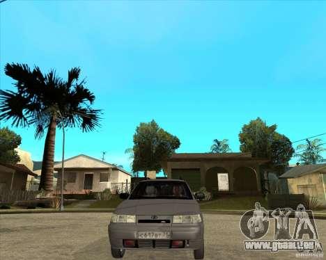 VAZ 2111 pour GTA San Andreas vue arrière