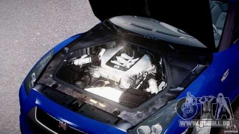Nissan Skyline GT-R R35 für GTA 4 rechte Ansicht
