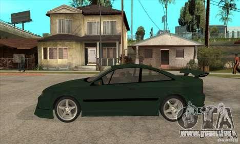 Opel Calibra pour GTA San Andreas laissé vue