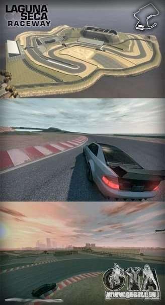Laguna Seca pour GTA 4 troisième écran
