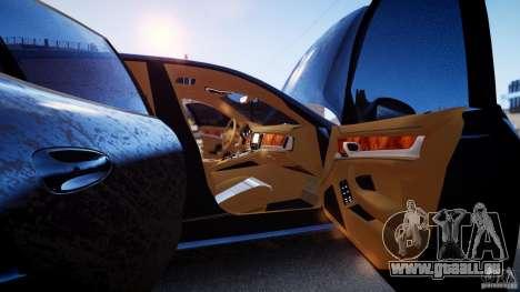 Porsche Panamera Turbo 2010 Black Edition pour GTA 4 est un côté