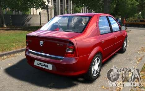 Dacia Logan 2008 pour GTA 4 est un droit
