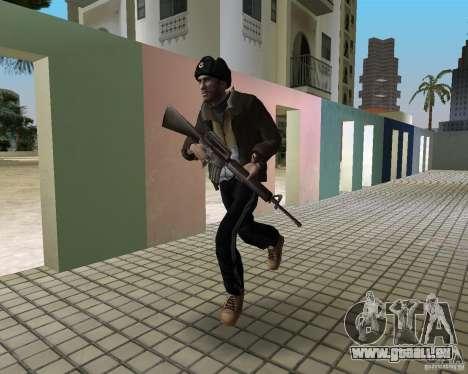 Niko Bellic im Ohr Klappen für GTA Vice City zweiten Screenshot