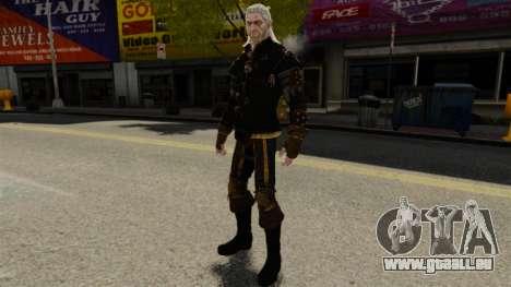 Geralt de Rivia v1 pour GTA 4 quatrième écran