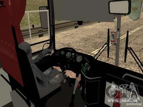 Ikarus Z50 pour GTA San Andreas vue de dessus