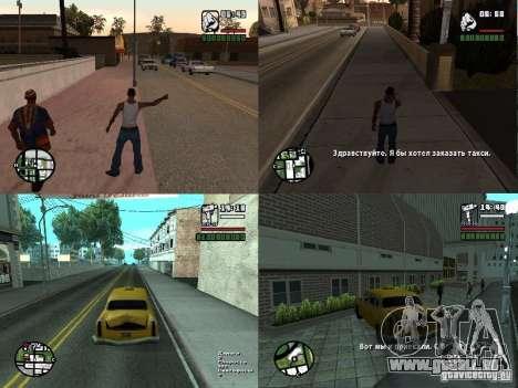 Taxi col v. 2 pour les ordinateurs portables pour GTA San Andreas