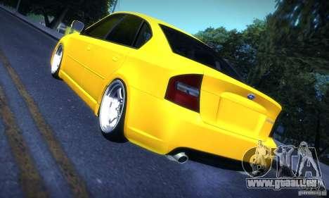 Subaru Legacy BIT edition 2004 pour GTA San Andreas vue de droite
