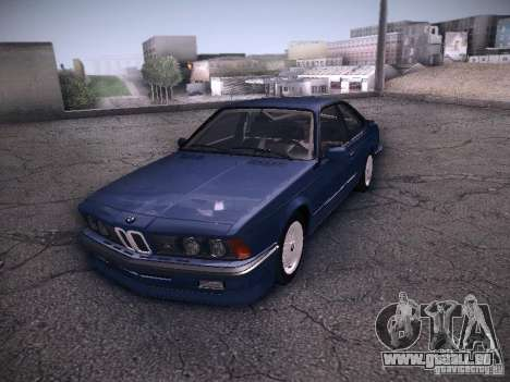 BMW E24 M635CSi 1984 pour GTA San Andreas vue de droite