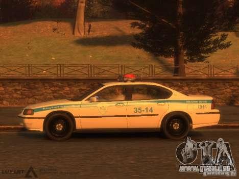 Chevrolet Impala Police 2003 für GTA 4 hinten links Ansicht