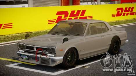 Nissan Skyline Hakosuka (KPGC10) Mountain Drift für GTA 4