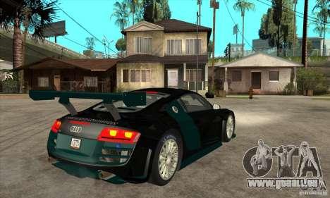 Audi R8 LMS für GTA San Andreas rechten Ansicht