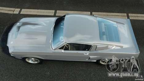 Shelby GT 500 Eleanor für GTA 4 rechte Ansicht