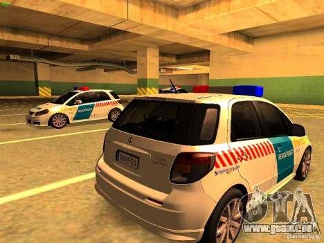 Suzuki SX-4 Hungary Police für GTA San Andreas linke Ansicht