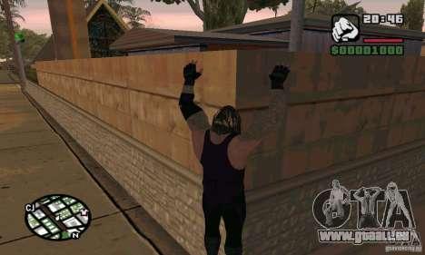 L'undertaker à Smackdown 2 pour GTA San Andreas cinquième écran