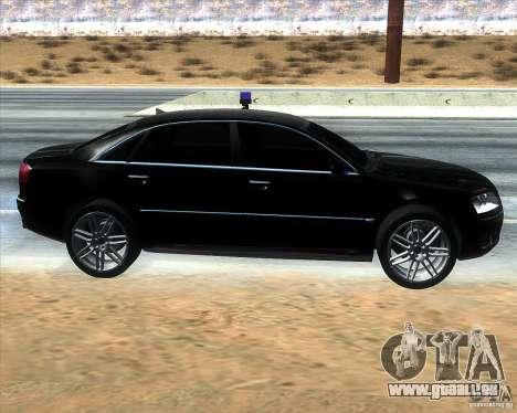 Audi A8L W12 für GTA San Andreas linke Ansicht