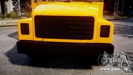 School Bus [Beta] pour GTA 4 est un côté
