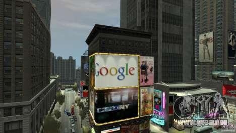Time Square Mod pour GTA 4 sixième écran