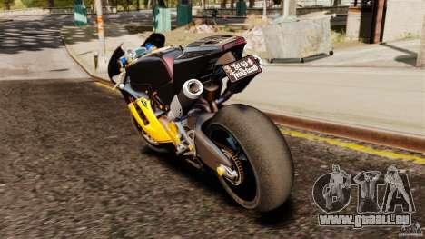 Ducati Desmosedici RR 2012 pour GTA 4 Vue arrière de la gauche