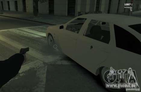 VAZ Lada Priora 2172 pour GTA 4 est un droit