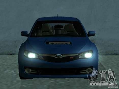 Subaru Imreza WRX für GTA San Andreas linke Ansicht