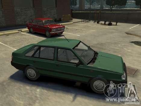 FSO Polonez für GTA 4 Unteransicht