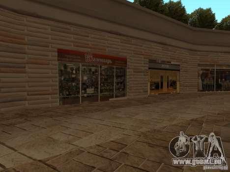 Nouveau centre commercial de textures pour GTA San Andreas cinquième écran