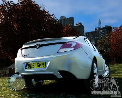 Vauxhall Insignia v1.0 pour GTA 4 est un côté