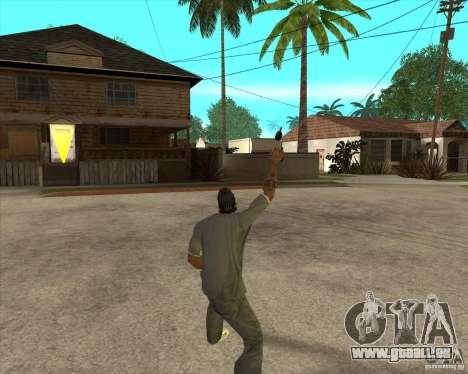 Gta IV weapon anims pour GTA San Andreas troisième écran