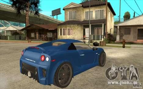 Mastretta MXT v1.1 pour GTA San Andreas vue de droite