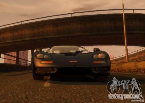 McLaren F1 für GTA 4 hinten links Ansicht