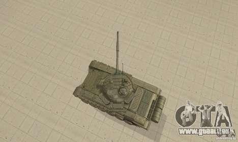 Panzer t-72 b für GTA San Andreas rechten Ansicht