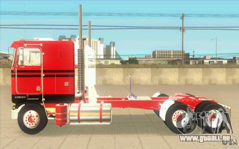 Kenworth K100 Extended Wheel Base für GTA San Andreas linke Ansicht