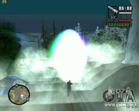 Masterspark pour GTA San Andreas deuxième écran
