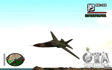 F-111 Aardvark pour GTA San Andreas