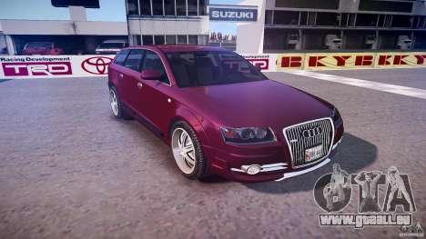 Audi A6 Allroad Quattro 2007 wheel 1 pour GTA 4 est un côté