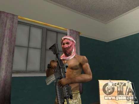 Chapeaux de Call of Duty 4: Modern Warfare pour GTA San Andreas cinquième écran