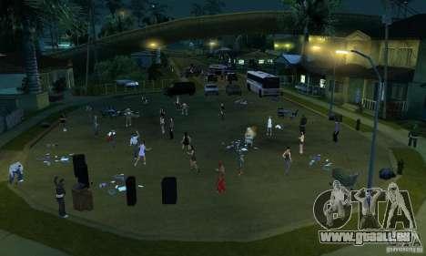 Projekt x an der Grove Street für GTA San Andreas fünften Screenshot
