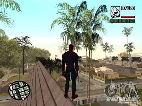 Spider Man From Movie pour GTA San Andreas septième écran