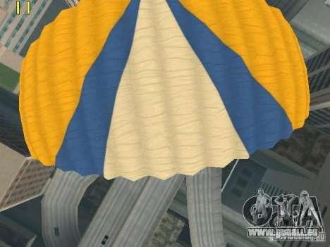 Fallschirm aus TBOGT v2 für GTA San Andreas sechsten Screenshot